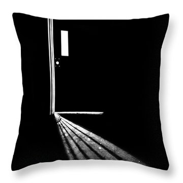In The Light Of Darkness Throw Pillow