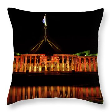 In The Light Of Magna Carta Throw Pillow