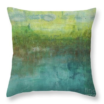 Through The Mist 2 Throw Pillow