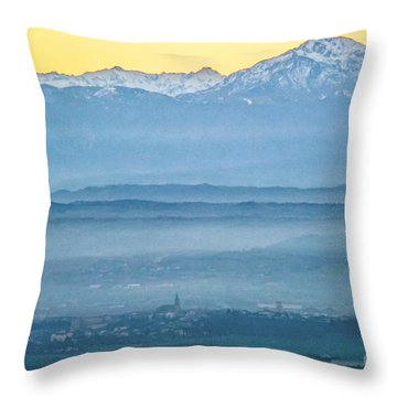 In The Mist 4 Throw Pillow
