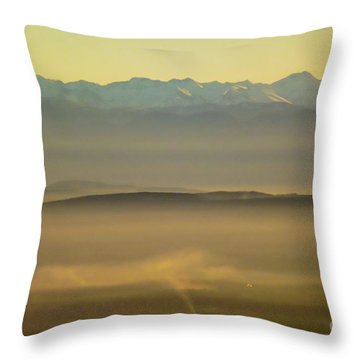 In The Mist 5 Throw Pillow