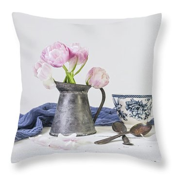 Throw Pillow featuring the photograph In The Moment by Kim Hojnacki
