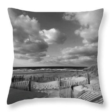 In The Mood Throw Pillow by Dianne Cowen