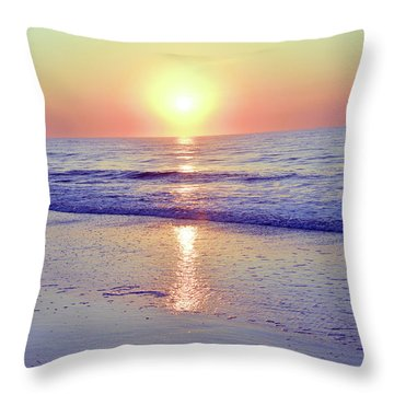 In The Morning Light Everything Is Alright Throw Pillow