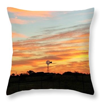 In The Morning Still Throw Pillow