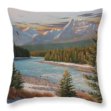 In The Morning Sun Throw Pillow