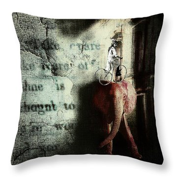 In The Night Nursery Throw Pillow