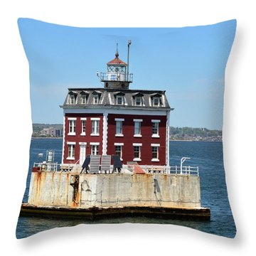 In The Ocean Throw Pillow