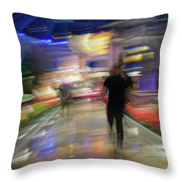 Throw Pillow featuring the photograph In The Presence Of The Sun God by Alex Lapidus
