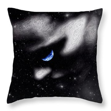 In The Quiet Of Your Mind Throw Pillow