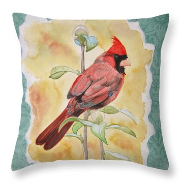 In The Reeds Throw Pillow