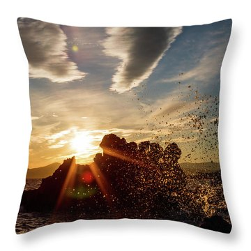 In The Right Spot Throw Pillow