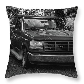 In The Shade Throw Pillow by Robert Hebert