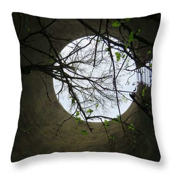 In The Silo Throw Pillow