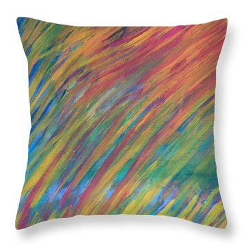 In The Sky--thanks To Mark Knopfler Throw Pillow