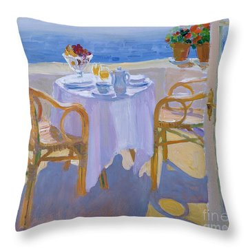In The South  Throw Pillow by William Ireland