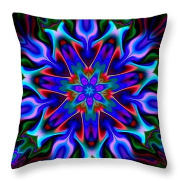 In The Spirit Of Things Throw Pillow