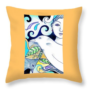 In The Spirit Of Unity 1 Throw Pillow