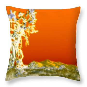 In The Spirit World Throw Pillow