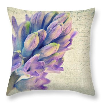 In The Spring Throw Pillow by Angela Doelling AD DESIGN Photo and PhotoArt
