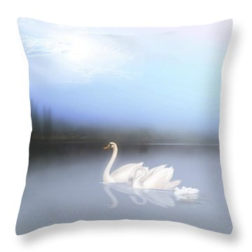 In The Still Of The Evening Throw Pillow