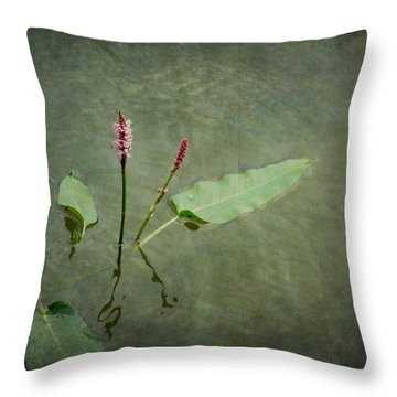 In The Stillness... Love Whispers My Name Throw Pillow