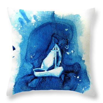 In The Storm Throw Pillow