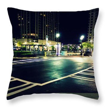 In The Street Throw Pillow