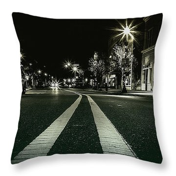 In The Streets Throw Pillow