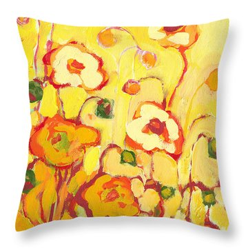 In The Summer Sun Throw Pillow