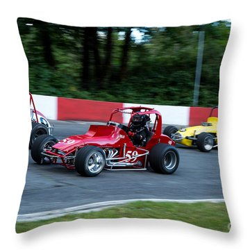 In The Turn Throw Pillow