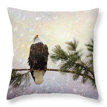 In The Twilight Glow Throw Pillow