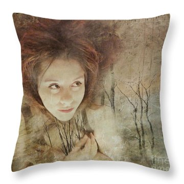 In The Wake Of Adversity Throw Pillow