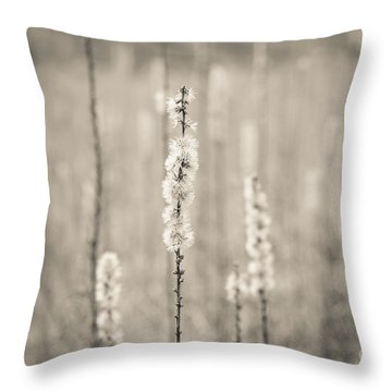 In The Wild Grass Throw Pillow