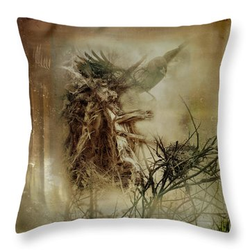 In The Wildwood Throw Pillow