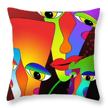 In The Zone Throw Pillow