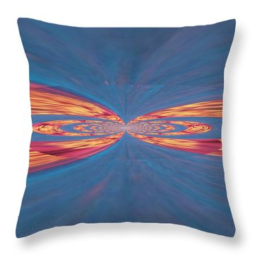 In Touch Throw Pillow by Kathy Bucari