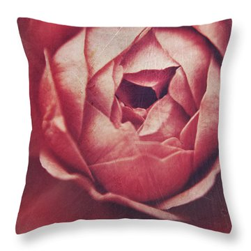 In Tough Times Throw Pillow by Laurie Search