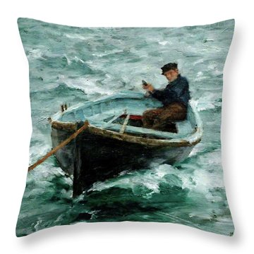 In Tow  Throw Pillow