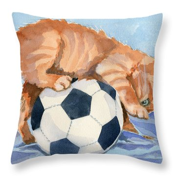 Soccer Ball Throw Pillows