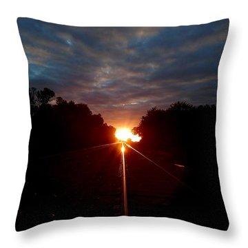 In Twilight Throw Pillow