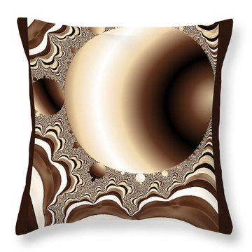 Into The Circle Throw Pillow