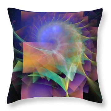 In What Far Place Throw Pillow