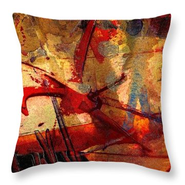 In Wisdom Valley Throw Pillow