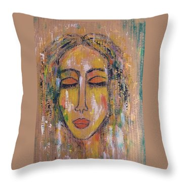 In Your Light.... Throw Pillow