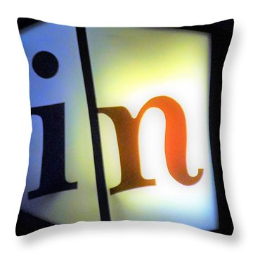 In1 Throw Pillow