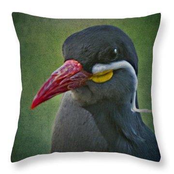 Inca Tern _ 1a Throw Pillow