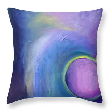 Incandescence Throw Pillow