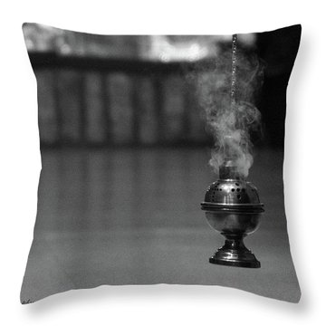 Incense Throw Pillow