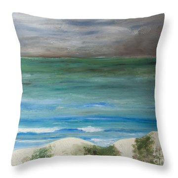 Incoming Weather Throw Pillow